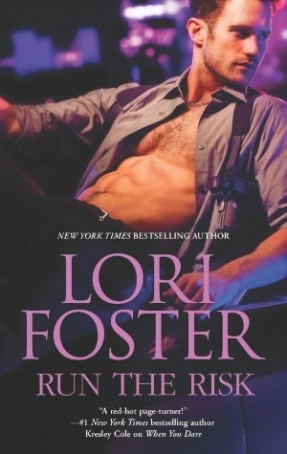 Review: Run the Risk by Lori Foster + Guest Post
