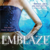 Emblaze (The Violet Eden Chapters #3) by Jessica Shirvington Gone with the Words Review