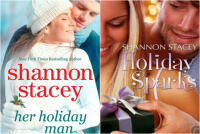 Review: Holiday Sparks + Her Holiday Man by Shannon Stacey